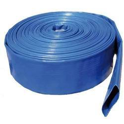 Blue LLDPE Lay Flat Pipe