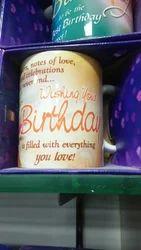 Message Birthday Yellow Muge