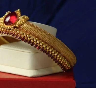 Antique Armlet Red Stone Bhima Jewellers Retailer In Udupi