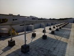 Roof Top Treas Solar Panel Module Mounting Structure