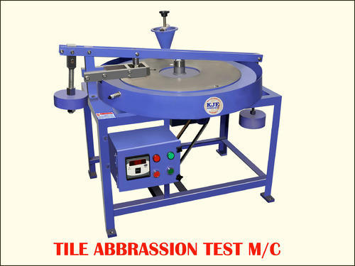 Tile Abrasion Testing Machine टाइल अब्रज़्हन टेस्टिंग