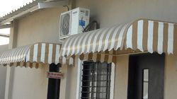 Polyester Striped Window Awnings