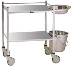 Dressing Trolley With Bowl & Bucket