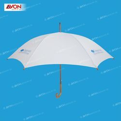 White Wooden Umbrella