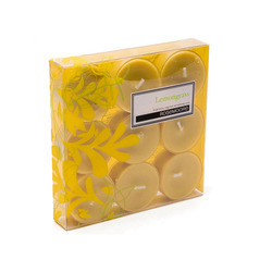 Rosemoore Scented Tea Lights Candles Lemon Grass (Pack of 9)