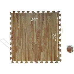 Wooden Look Floor Puzzle Mat