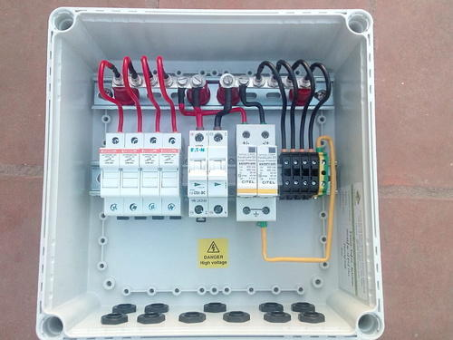 array junction solar combiner box at rs 6250 piece s solar rh indiamart com PV Array Combiner Box pv combiner box wiring