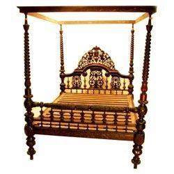 Brown Antique Beds