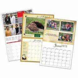 Wall Calendar Printing Service, Dimension / Size: Standardised