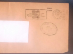 Post Office Use Envelope
