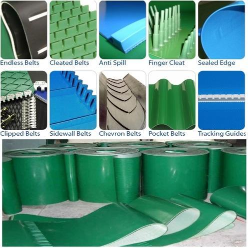 PVC-PU Nylon Conveyor Belts