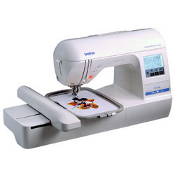 Brother Model Nv 750 Computerised Embroidery Machine