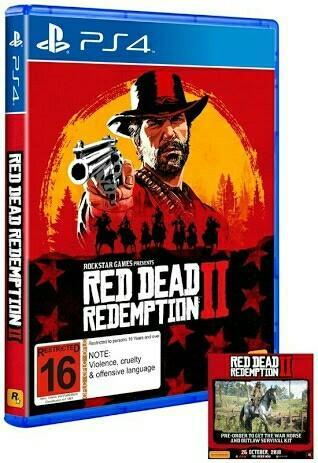 games - Red Dead Redemption 2 PS4 Retailer from Hyderabad