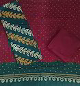 Female Bandhej Dress Material