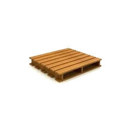 types wood pallets furniture wing type wooden pallet krishna industries manufacturer in