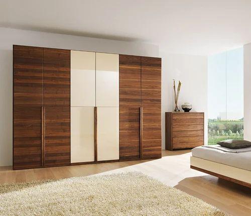 Modern Funriture: Modern Wooden Wardrobe At Rs 75000 /piece