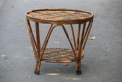 Cane Center Table