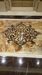 Marble Floor Inlay