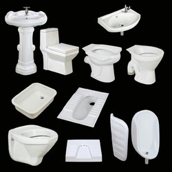 SUNMORA Ceramic Sanitary Ware, for Bathroom Fitting