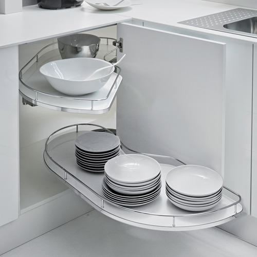 Ebco Kitchen Accessories Catalogue: S Shape Tray For Corner Hettich Kitchen Accessories, Rs