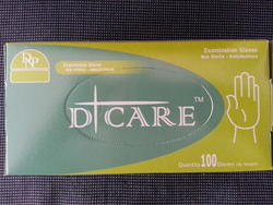 D- Care Latex Examination Gloves- Powder Free