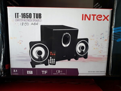 220 Voly Black Intex Multimedia Speaker