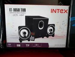 220 Voly Black Intex Multimedia Speaker