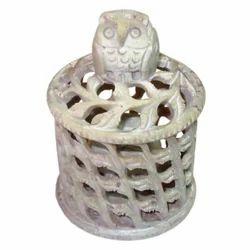 Soapstone Egg Owl