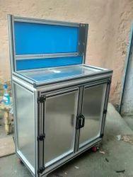 Aluminium Modular Work Station, For Industrial Workshops