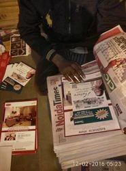 Advertising Service - Through Newspaper