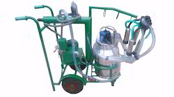Single Bucket Trolly Type Milking Machine