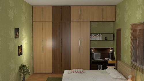 Wooden Wardrobe Children Bedroom Interiors Manufacturer From