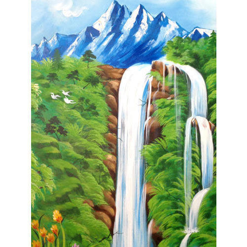 Hd Wall Art Work Scenery Wall Art Work Manufacturer From Pune