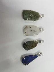 Druzy Stone Pendant
