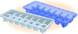 Plastic Freezer Ice Tray, Size: 110 X 270 X 44 Mm