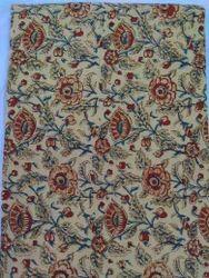 Hand Block Kalamkari Print Fabric