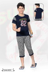 Boys Designer Capri Set