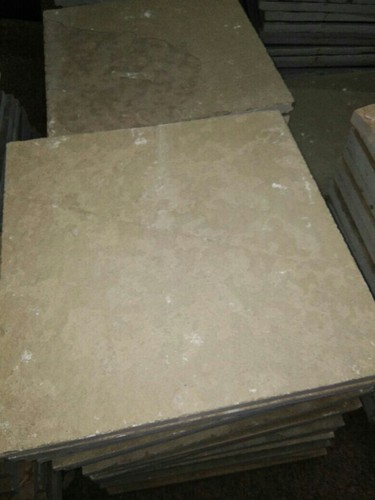 Yellow 40 45 Shahabad Stone Size 23 Quot X23 Quot Thickness