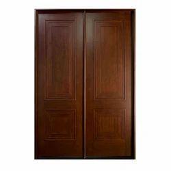 solid wood main double door solid timber door shree hariom plast mart ahmedabad id