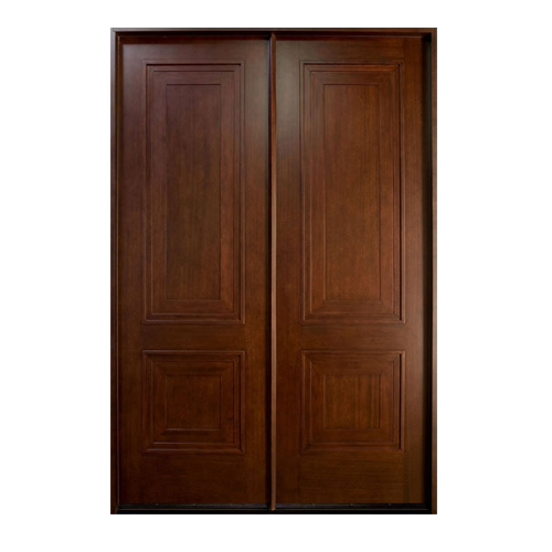 solid wood main double door  solid timber door