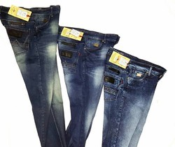 Faded Casual Wear High Quality Jeans