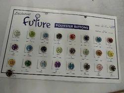 Designer Polyester Button