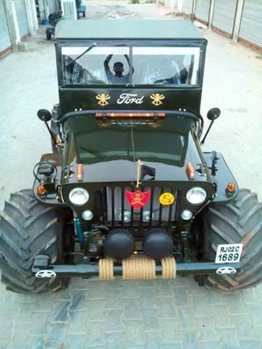 Open Modified Monster Jeep At Rs 420000 Piece म ड फ इड