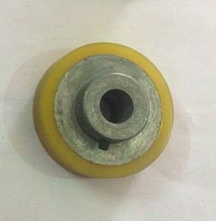 Band Sealer Spare Parts - Yellow Silicon Wheel Manufacturer