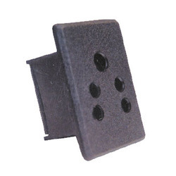 SPE Black UPS Electrical Socket, For Electric Fittings, 220 V