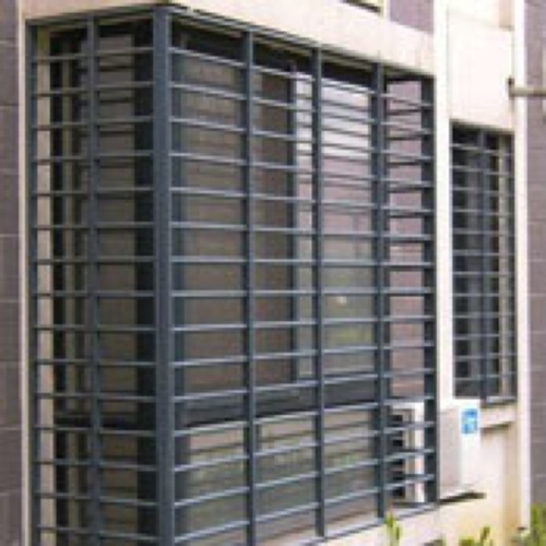 Window grills zen design modern long cover grill design for Window grill design