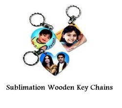Sublimation Wooden Key Chains - Sublimation Blank Keychains