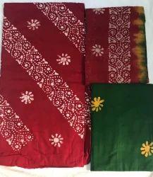 Formal Wear Printed Low Price Wax Batiks Dress Material, GSM: 150-200