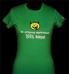 Green Casual T-Shirt