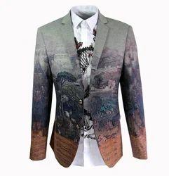 Digital Printed Blazer Fabrics